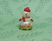 Dollhouse Miniature Snowman Figurine Decoration/Centerpiece
