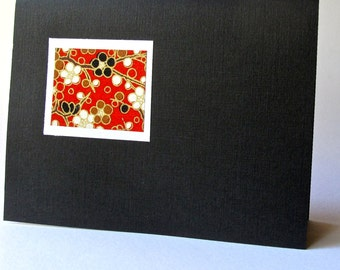 Greeting Cards (black linen)