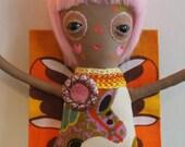 BIG Special Luflie Doll - Mum Cut My Hair!  -  Sleepy Sad Eye Girl