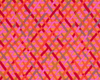 MAD PLAID in RED by Brandon Mably Fabric  PWBM037 / Westminster Fabric / 1/2 yard Cotton, Quilt Craft and Apparrell fabric