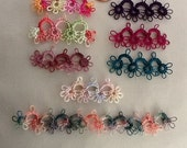 Crazy Quilting Tatted Trims in Various Lengths and Colors