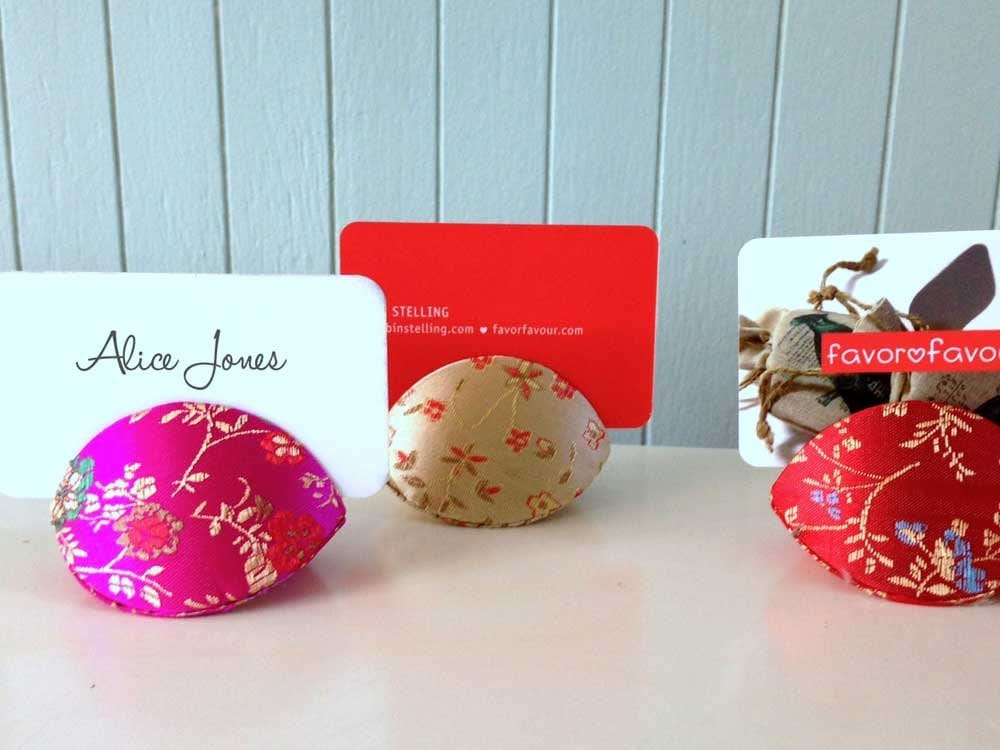 Chinese fortune cookie party favor boxes silk brocade gift for Fortune cookie jewelry box
