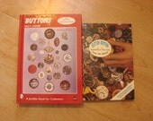 Button Books Arts Buttons Hard and Soft Covers Identifying Buttons Encyclopedia Price Guides