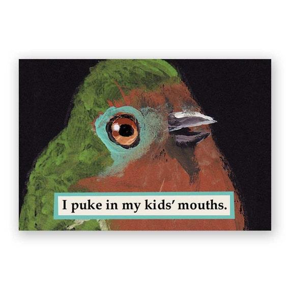 Puke Magnet - Humor - Gift - Stocking Stuffer - Mom - Regurgitation - Mother - Mother's Day