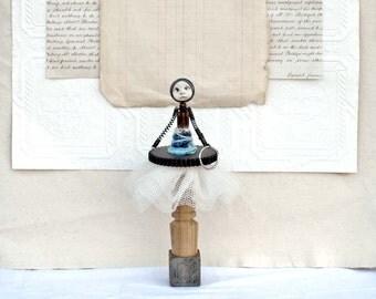 Assemblage Mixed Media Art Doll Reah