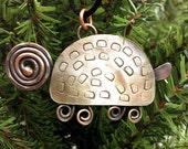 Spoon Turtle Ornament
