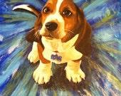 Pet Portrait - a Blast of Color