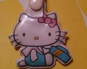 Hello Kitty 1980s Sanrio Japanese Luggage Tag