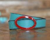 Oval Frame Belt Buckle by Fosterweld