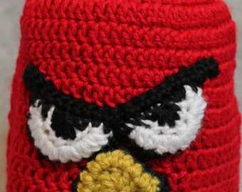 Children's Red Bird Hat