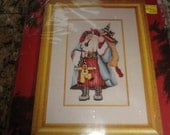 Janlynn Fantasy Father Christmas Cross Stitch Kit with beads NEW 1993
