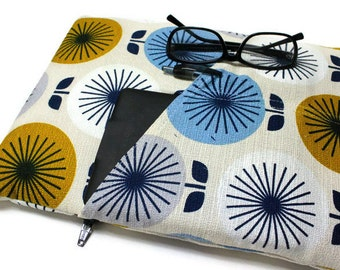 11 or 13 Inch MacBook Air Case Women or Girls Floral Laptop Cover Yoga Pro 3Sleeve - Round Bouquet