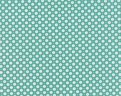 SALE - Daysail - Buoy in Teal: sku 55105-15 cotton quilting fabric by Bonnie and Camille for Moda Fabrics - 1 yard