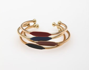 Bestselling New Fall/Winter Colors 3 Bracelet Bangle Cuff Gift Set