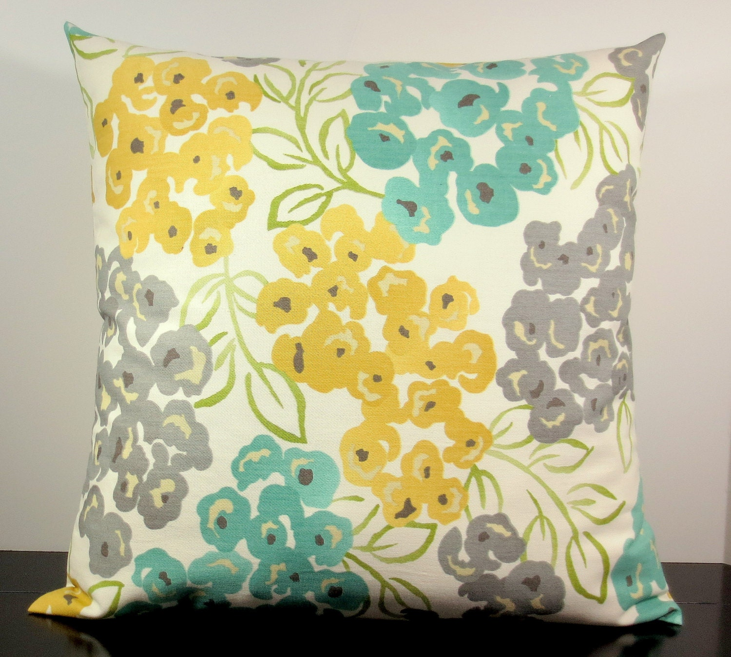 Floral Decorative Throw Pillow Cover Accent Cushion Slipcover