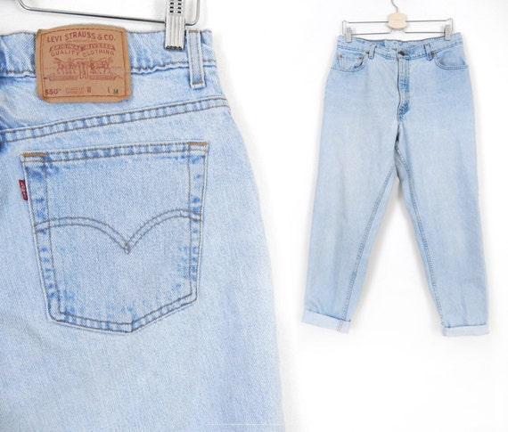 Vintage Plus Size Levi's 550 Women's Jeans Size 15