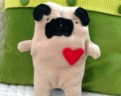 Earl ~ The Fawn Pug Bummlie ~ Stuffingless Dog Toy ~ Ready To Ship Today
