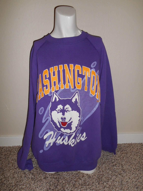 vintage of washington 80 s 90 s huskies