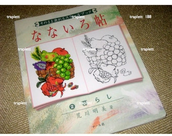 Japanese Craft Book Watercolor Ink Painting