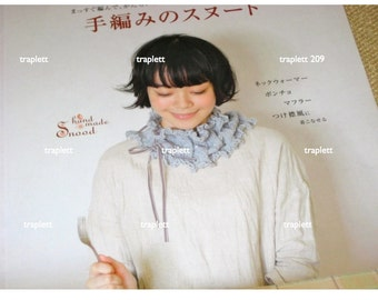 Japanese Craft Pattern Book Crochet and Knit Snoods Shawls Caplets and more