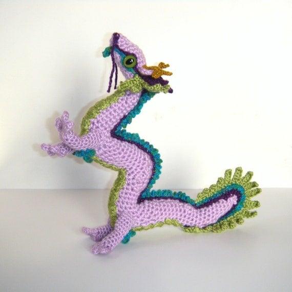 Chinese Dragon Amigurumi Pattern : Chinese dragon amigurumi art doll by lapetiteunicorn