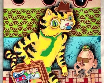 Tiger on vacation