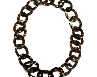 Horn Chain Necklace - Q4231