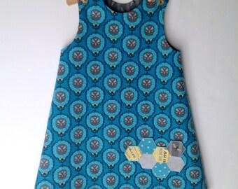 Modern Honeycomb pocket jumper, size 4T ONLY