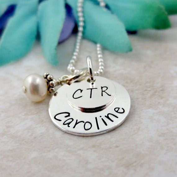 ctr necklace choose the right necklace personalized lds