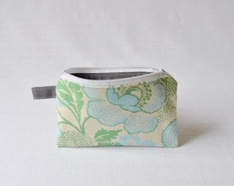 Small Zippered Pouch - 4.5 x 7