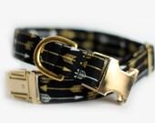 Arrows dog collar - Tribal Collar - Arrows in Brass