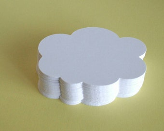 White Cloud Die Cuts (set of 60)