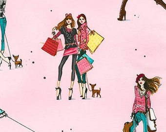 Robert Kaufman, Izak Zenou, Who's That Girl 3, Shop Girls in Paris on Pink, yard