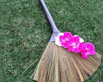 sale wedding broom jumping broom custom made for you