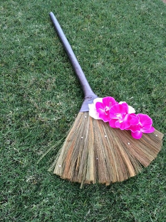 sale wedding broom jumping broom custom by broomsbasketsnbrides