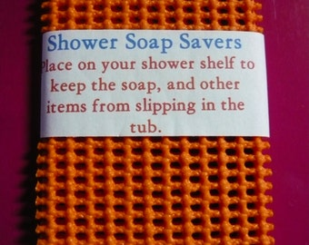 Soap Savers Set Orange Shower of 2