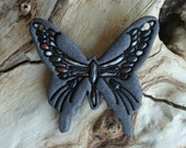 Stoneware Butterfly Focal Pendant 4