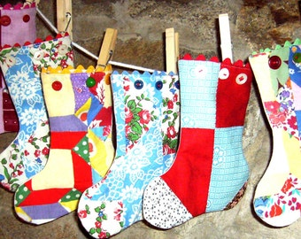 Handmade, Unique Stockings and Ornaments