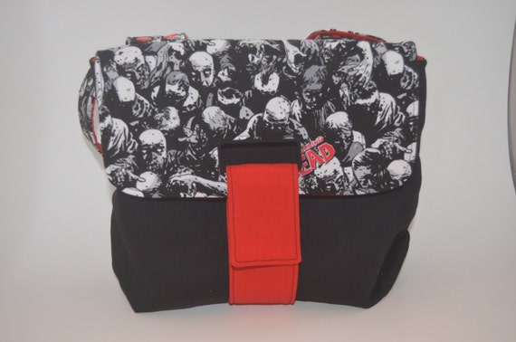 BabyWearing Diaper Bag Fits on SSC or Stroller!  Custom fabric choices