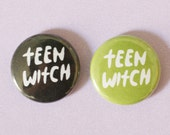 Teen Witch Button Choose One