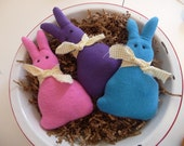Primitive Easter bunny peeps tuck bowl fillers