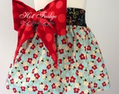 50% OFF SALE Christmas Party Skirt, Elise, Sizes 2, 3, 6