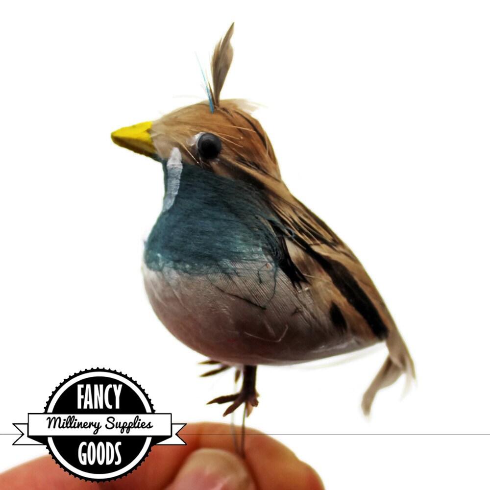 1 small quail craft bird fake bird artificial bird for Fake birds for crafts