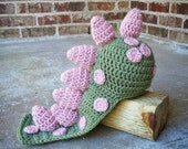 Crochet Dinosaur / Dragon Hat Prop girl baby costume Infant Halloween Costume animal hat newborn photography prop shower gift