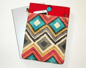 DIAMOND CHEVRON - MacBook Pro / MacBook Air / iPad / Microsoft Surface / Dell - Padded Sleeve Cover