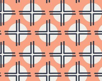 Boho Fabric, Tribal Fabric Arizona Fabric, Fabric By the Yard, Designer Fabric, Arizona fabric, April Rhodes, Art Gallery- Clay Sundot
