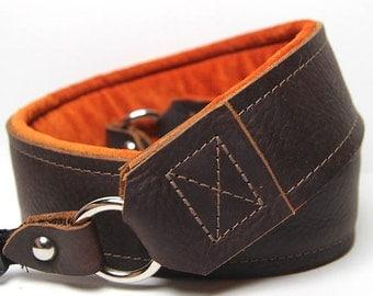 Leather DSLR Camera Strap -The Kodiak
