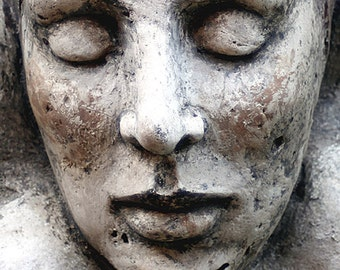 Handmade sculpture, plaster OOAK by Tatjana Raum