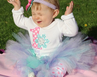 Baby Girl 1st Birthday Outfit, Winter ONEderland Birthday, First Birthday Outfit Girl, Smash Cake Outfit, Trendy Baby Clothes