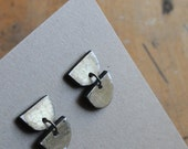 Half Moon Drop earrings